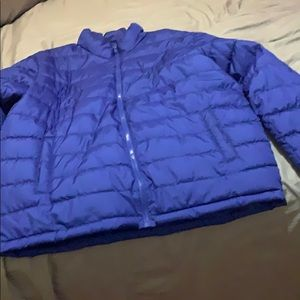 ROYAL BLUE PUFF JACKET
